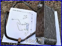 Original Vertical Oil Cooler for BMC Austin Morris Mini Mk1 Cooper and Cooper S