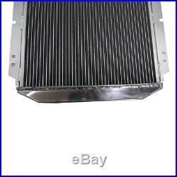 POUR FORD MUSTANG V8 289 302 AT/MT 1964-1966 3ROW Aluminium RADIATEUR Radiator