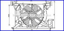 PRASCO RT7545 Ventilateur, refroidissement du moteur