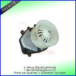 Premium Ventilateur Intérieur Moteur Électrique Pour Chauffage De Vw Passat 3b