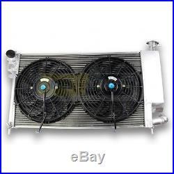 Pack Radiateur Aluminium PEUGEOT 306 16S et CITROEN ZX VOLCANE + ventilateurs pl
