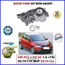 Pompe à Eau Neuve pour VW Polo 6R 6C 1.0+ TSI 60 75 110 Bhp 2014-999cc