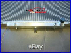 Pour 3 rangées Nissan GU Patrol Y61 radiateur en aluminium essence 1997-2001 AT