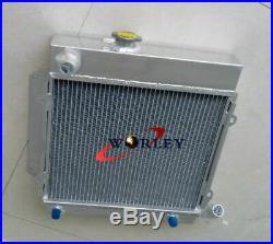 Pour BMW E10 2002/1802/1602/1600/1502 TII / Turbo Radiateur En Aluminium