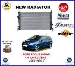Pour Ford Focus C-Max 1.6 1.8 2.0 Tdci 2003- 2007 Nouveau Radiateur