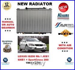 Pour Lexus Is 200 Mki JCE1 GXE1 Sportcross 200 1999- 2005 Radiateur Neuf