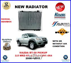 Pour Mazda BT 50 Pickup CD un 2.5 Mrz 4x4 3.0 Cdvi 4x4 2006- 2015 Radiateur