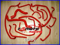 Pour Renault Super 5 GT Turbo PHASE 1 85-87 1.4 B/C40 Radiateur Silicone Tuyau