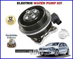 Pour VOLKSWAGEN VW GOLF 5 6+ PLUS 1.4 TSi GT 1390cc 2005 KIT DE POMPE À EAU