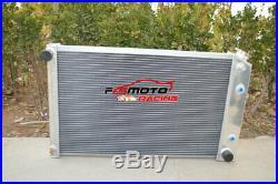 Pour radiateur 3 rangées Chevy Camaro/75-79 Nova/70-87 Chevrolet/Buick Regal