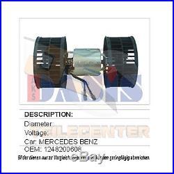 Premium Moteur De Ventilateur Chauffage Blowers Intérieur Mercedes-benz W124