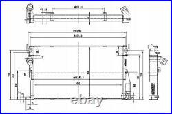 Racing Radiator Turboworks M-5563 E90 E92 1m E82 335i