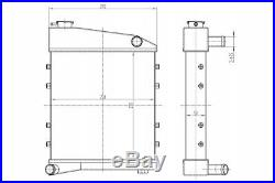 Racing Radiator Turboworks M-5584 Austin Mini Classic Cooper