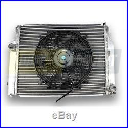 Radiateur Aluminium BMW M3 E36 et ventilateur plat