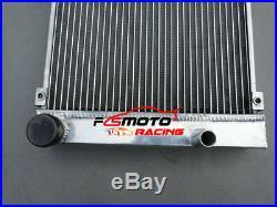 Radiateur Aluminium + Fan pour 1986-1989 Porsche 924S 944 2.5L & 2.7L non turbo