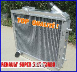 Radiateur Aluminium RENAULT SUPER 5 GT TURBO 1985-1991