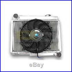 Radiateur Aluminium arrière et ventilateur plat pour ALPINE A110 et R8 GORDINI