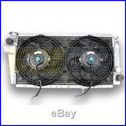 Radiateur Aluminium et ventilateurs RENAULT 5 ALPINE TURBO