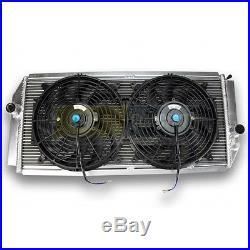 Radiateur Aluminium et ventilateurs pour ALPINE A610 V6 TURBO