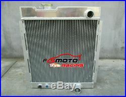 Radiateur Aluminium pour Ford Mustang V8 289 302 Windsor 1964 1965 1966 Mercury
