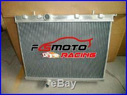 Radiateur Aluminium pour Peugeot 206 GTI GTI180 RC S16 2.0L EW10J4S 16V I4 MT