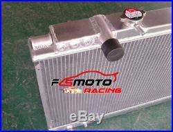 Radiateur Aluminium pour Toyota Supra MK3 A70 3.0 Soarer MK2 Z20 2.0 Turbo 86-92
