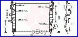 Radiateur Moteur Mercedes M / ML W163 (ML400 CDi)