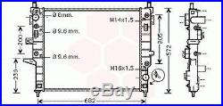 Radiateur Moteur Mercedes M / ML W163 (ML55AMG)