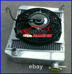 Radiateur + Shroud Fan Pour Austin Rover Mini Cooper 1275 GT Morris 1959-97 MT