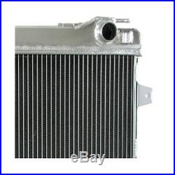Radiateur d'eau Alu racing pour BMW serie 3 E30 82-94 Drift Course 325i 320i 323