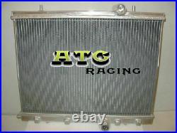 Radiateur de course tout en aluminium pour Peugeot 206 GTI / RC 180 1999-2008 07