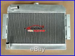 Radiateur en alliage d'aluminium pour MGB GT / Roadster TOP-FILL 1968-1975