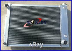 Radiateur en aluminium 1967-1969 Chevy Camaro / Firebird T / A V8 5.3L-5.7L