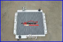Radiateur en aluminium MT pour Toyota Land Cruiser BJ40 BJ42 diesel LandCruiser
