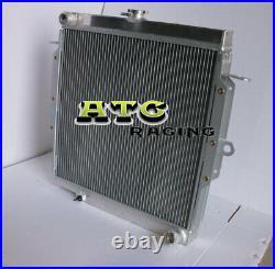Radiateur en aluminium Toyota Land Cruiser Landcruiser 75 séries HZJ75 1990-2001
