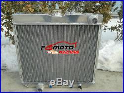 Radiateur en aluminium à 3 rangées pour Ford Mustang V8 1967-1970 1968 1969 70