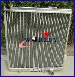 Radiateur en aluminium + couvercle pour Triumph TR6 TR 6 1969-1974 / TR250 70 71