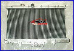 Radiateur en aluminium de 52mm pour Subaru Impreza WRX STI GDB GDA 02-07