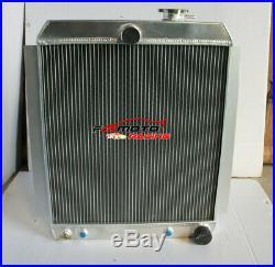 Radiateur en aluminium de 56 mm pour camionnette Chevrolet 1948-1954 53 52