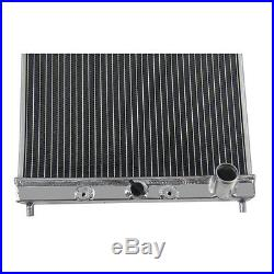 Radiateur en aluminium et 12 ventilateur Pour Honda Civic EJ EK DEL SOL 2 ROWS