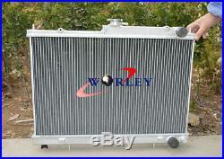 Radiateur en aluminium manuel pour Nissan Skyline R33 R34 GTR GTS-T RB25DET