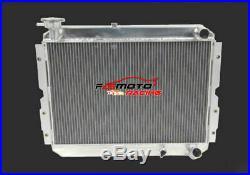 Radiateur en aluminium manuel pour Toyota Landcruiser série 60 HJ60 HJ61 HJ62
