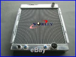 Radiateur en aluminium pour Ford Mustang V8 289 302 WINDSOR 1964 1965 1966
