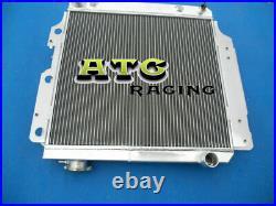 Radiateur en aluminium pour Jeep Wrangler YJ TJ LJ 2.4L / 2.5L L4 4.0L 1987-2006