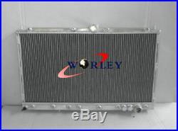 Radiateur en aluminium pour Mitsubishi 3000GT GTO VR4 Manual MT