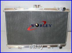 Radiateur en aluminium pour Nissan 200SX S13 CA18DET 1.8 Turbo 1988-1994 MT