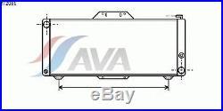 Radiateur, refroidissement du moteur ALPINE A310 2.7 V6