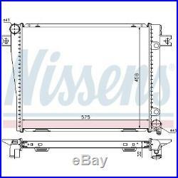 Radiateur, refroidissement du moteur NISSENS (60602A)