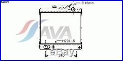 Radiateur, refroidissement du moteur PEUGEOT J7 Camionnette 2.3 D