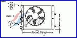 Radiateur, refroidissement du moteur SKODA FABIA 1.2